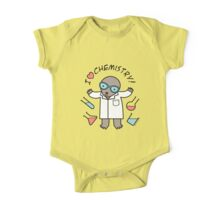 I Heart Chemistry - Scientist Chemist Mole One Piece - Short Sleeve