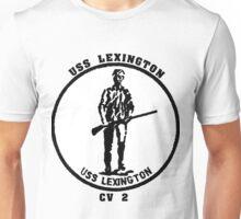USS Lexington CV-2 Unisex T-Shirt