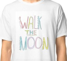 multicolor walk the moon logo Classic T-Shirt