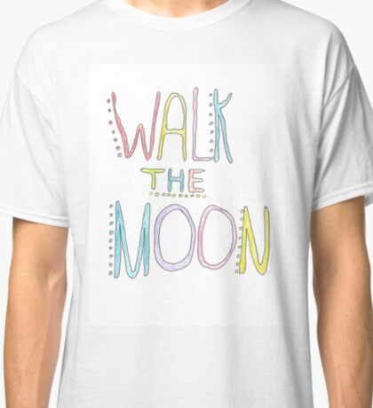 multicolor walk the moon logo Classic T-Shirt