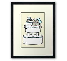 Kitty Cat Wedding Framed Print