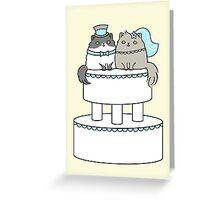 Kitty Cat Wedding Greeting Card