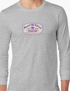 Paragade Soda Logo Purple Long Sleeve T-Shirt