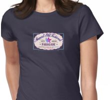 Paragade Soda Logo Purple Womens Fitted T-Shirt