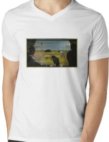 Hitchcockasaur Mens V-Neck T-Shirt
