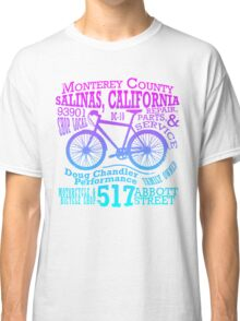Doug Chandler Performance (Gradient: Pink to Blue) Classic T-Shirt