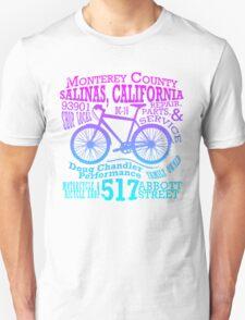 Doug Chandler Performance (Gradient: Pink to Blue) Unisex T-Shirt