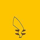 Pikachu iPhone Cover by jereeebear