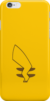 Pikachu iPhone Cover by jereeebear