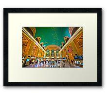 Grand Central Terminal - NYC Framed Print