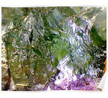 Green Fluorite (Detail) Poster