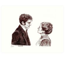 """""""Human Nature"""" Doctor Who Inspired Sketch Art Print"""