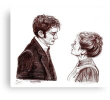 """Human Nature"" Doctor Who Inspired Sketch Canvas Print"