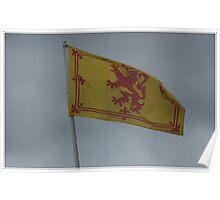 The Royal Flag of Scotland. Poster