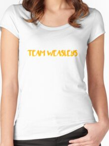 Team Weasleys Women's Fitted Scoop T-Shirt