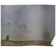 Mist Lifting Poster
