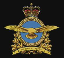 Royal Canadian Air Force Badge Kids Clothes