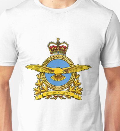 Royal Canadian Air Force Badge Unisex T-Shirt