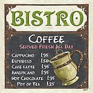 Elegant Bistro Chalkboard by DebbieDeWitt