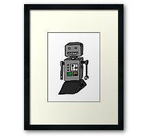 Robot doodle Framed Print