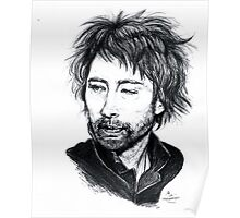 Thom Yorke [Radiohead] Poster