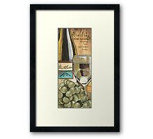 Red Wine and Cheese 2 Framed Print