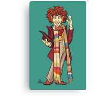 The Fourth Doctor [Who] Canvas Print