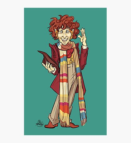 The Fourth Doctor [Who] Photographic Print