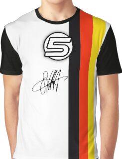 Vettel Helmet sig Graphic T-Shirt