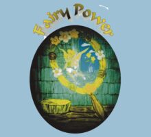 Fairy Power Yellow and Blue hues Kids Clothes