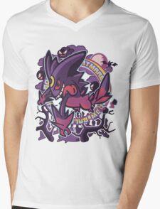 Gengarite Mens V-Neck T-Shirt