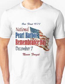 Pearl Harbor Day Memorial Unisex T-Shirt
