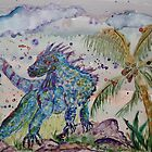 BLUE IGUANA by eoconnor