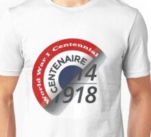 First World War Centenary Logo Unisex T-Shirt