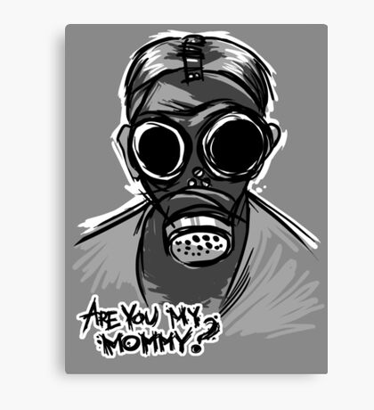 Are you my mommy? - Dr Who Canvas Print