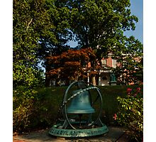 U.S.S. Maryland Bell At Annapolis - Annapolis, MD Photographic Print