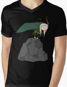 Legolas Time Mens V-Neck T-Shirt