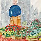 Flower Market France by Fred Jinkins