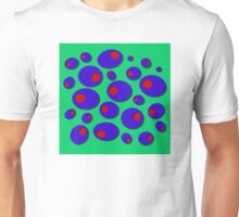 Blue Olives & Red Pimentos Unisex T-Shirt