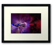 Star Drive Framed Print