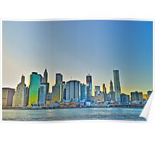 Old and New - NYC Skyline Poster
