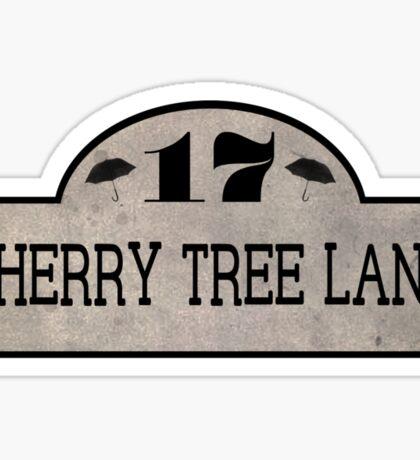 Cherry Tree Lane Sticker