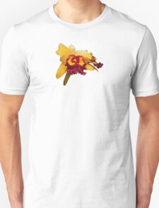 Orange and Magenta Orchid T-Shirt