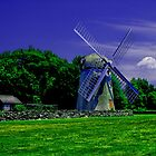 Jamestown Windmill by OntheroadImage