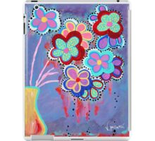 Whimsical Flowers - Art by Valentina Miletic iPad Case/Skin