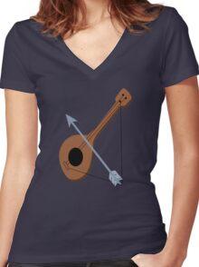 Robin Hood Women's Fitted V-Neck T-Shirt
