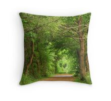 God's Cathedral Throw Pillow