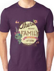 Ohana - Lilo and Stitch Quote Unisex T-Shirt