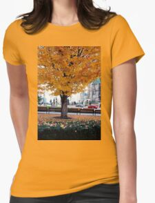 City Foliage Womens Fitted T-Shirt