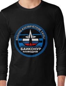 Baikonur Cosmodrome Logo Long Sleeve T-Shirt